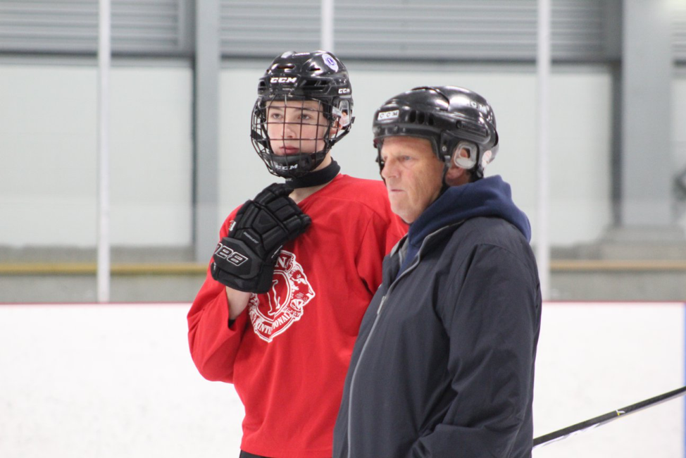 Manuel Leger (Shediac/ Cap-Pele Minor Hockey Association) chosen as Hockey New Brunswick Coach of the Month for February.