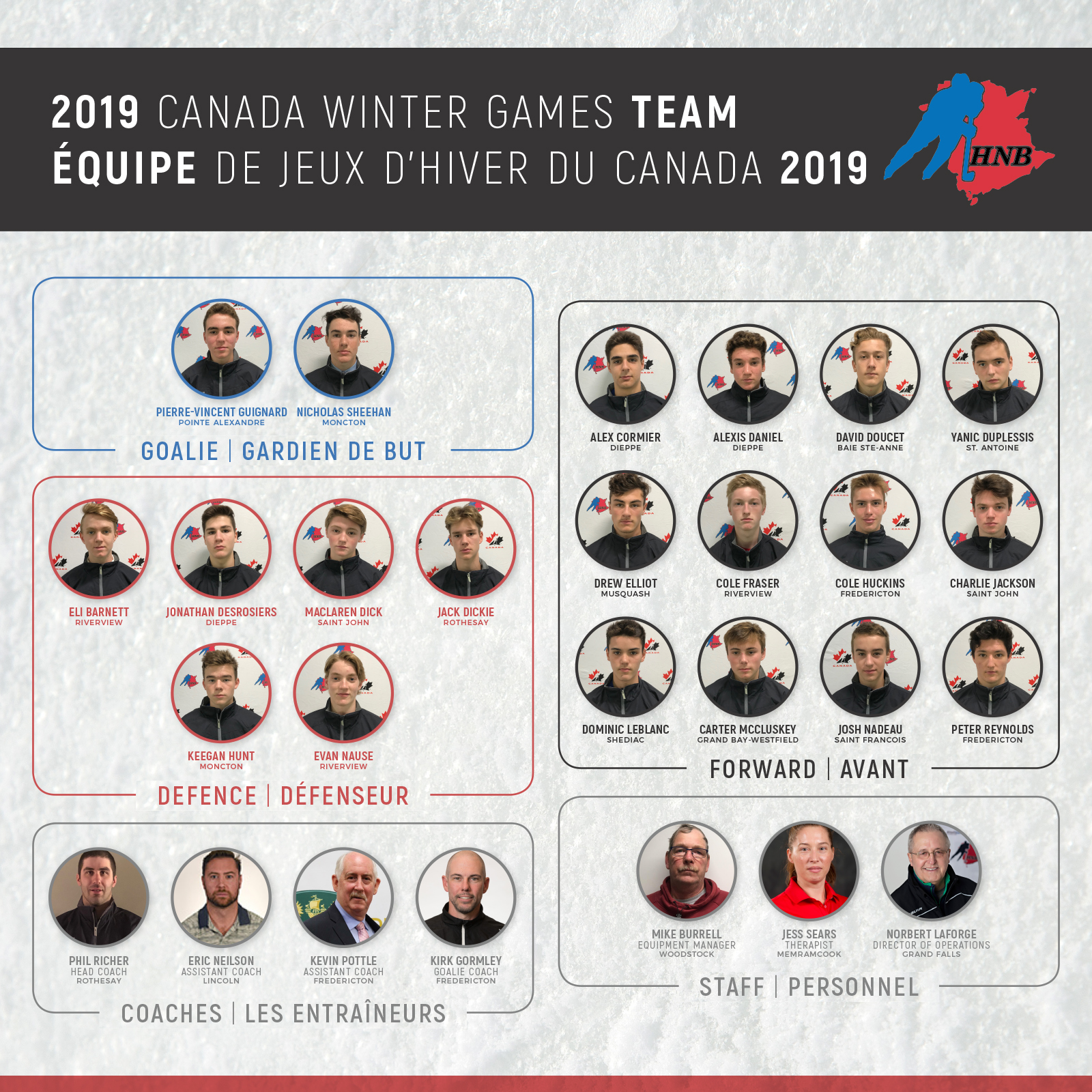 Male Under 16 Team Heading to Red Deer for 2019 Canada Winter Games